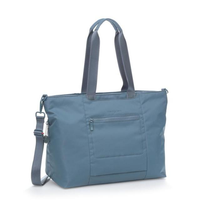 "SWING L Tote mit Laptopfach 15"" Dolphin Blue"
