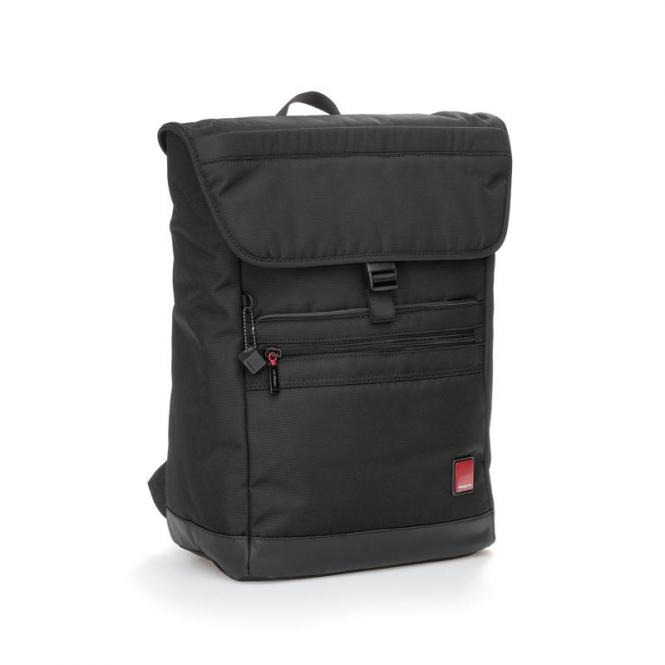 "FLAPS Business Backpack mit Laptopfach 15,6"" Black"