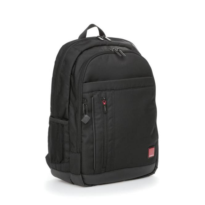 """FLAPS Business Backpack mit Laptopfach 15,6"""" Black"""