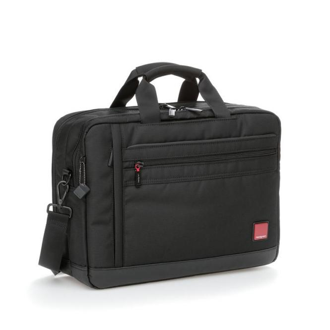 "LANDING Business Bag mit Laptopfach 15,6"" Black"
