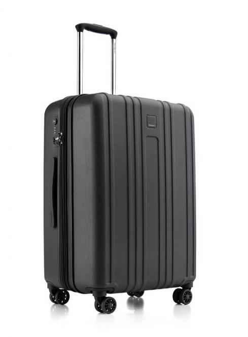 Gate M Ex 4-Rollen Trolley 67cm erweiterbar Black