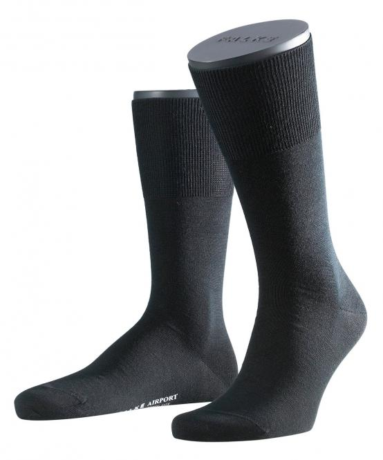 Herren Socken 45-46 black