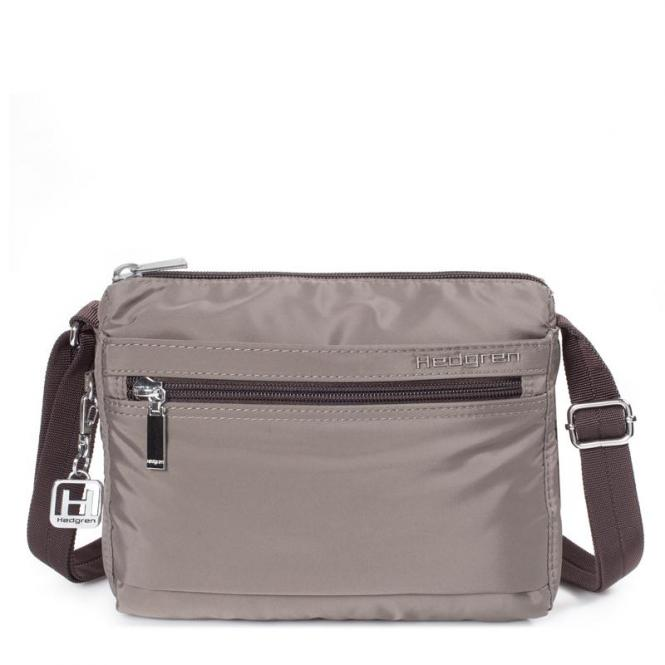 EYE Shoulder Bag sepia / brown