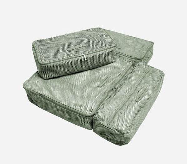 Packing Cubes 4-teiliges Set Marine Green