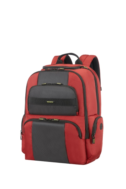 "Laptop Rucksack 15.6"" Red/Black"