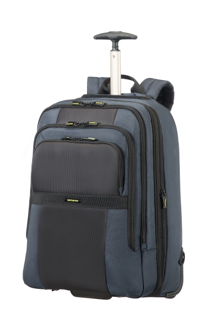"Laptop Rucksack 2-Rollen erw. 17.3"" Blue/Black"