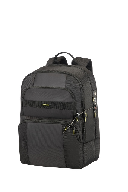 "Security Laptop Rucksack 15.6"" Black/Black"
