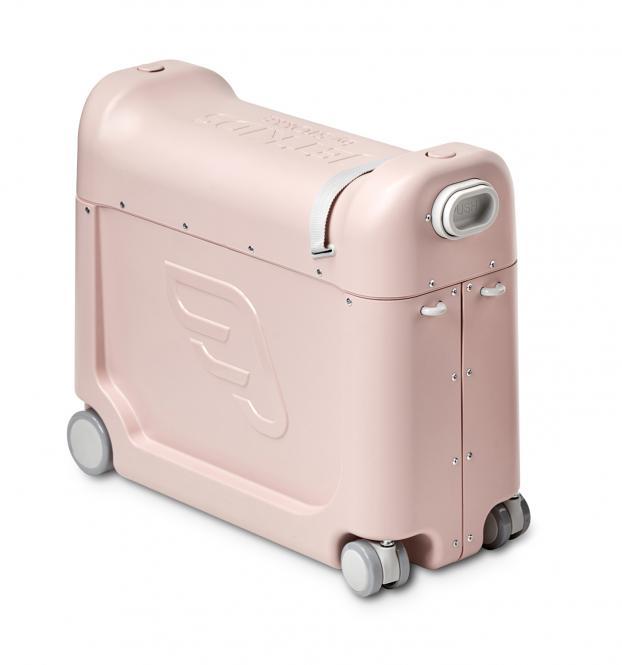 BedBox Aufsitzkoffer und Flugzeugbett Pink Lemonade