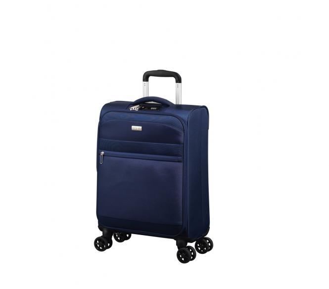Trolley S 4R 55cm bleu