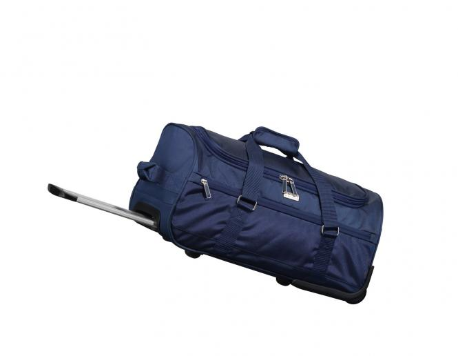 Wheeled Duffle 52cm bleu