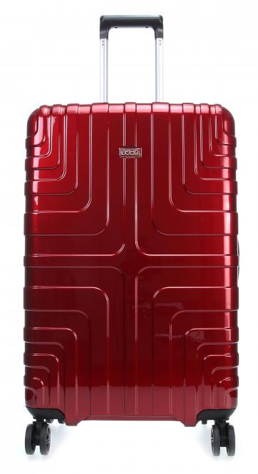 Trolley M 4 Rollen 73 cm Red