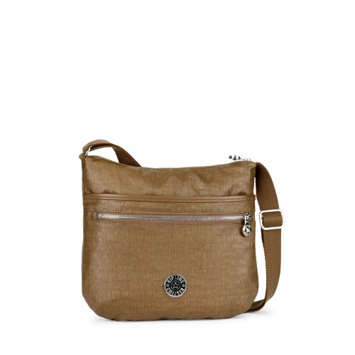 Schultertasche Quertasche Twisted Brown