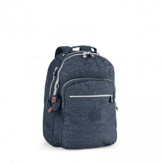 Back to School Großer Rucksack True Blue