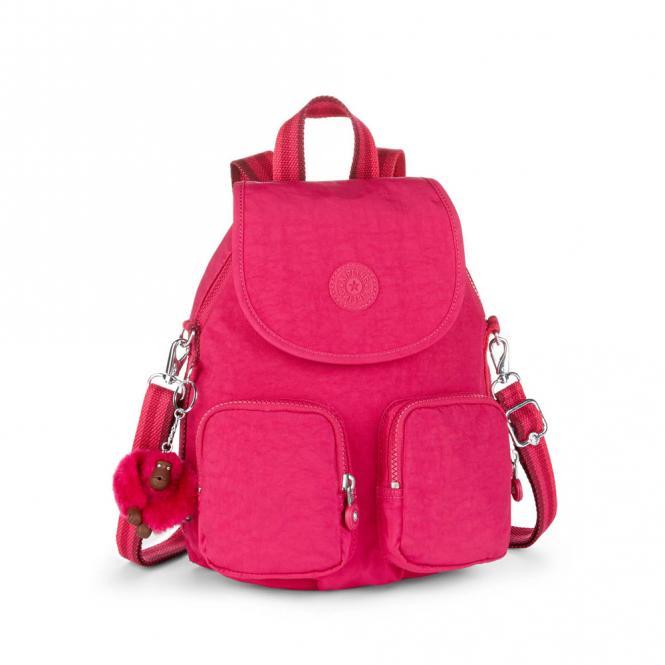 Basic Mittelgroßer Rucksack Cherry Pink C