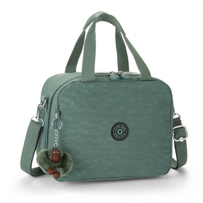 Lunchbag mit Trolleylasche Dark Green C