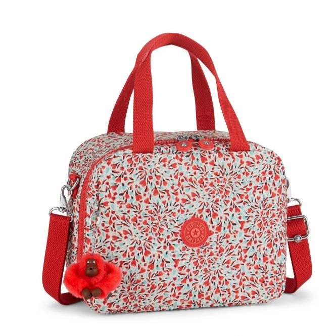 Lunchbag mit Trolleylasche Sweet Flower