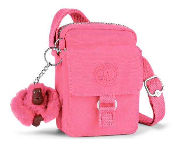 Schultertasche Carmine Pink