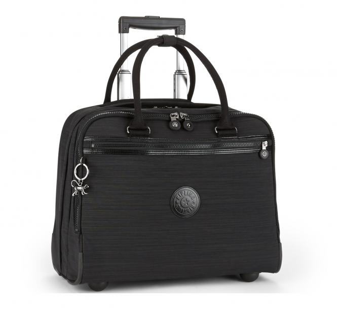 kipling new ceroc aktentasche mit rollen dazz black jetzt online kaufen. Black Bedroom Furniture Sets. Home Design Ideas