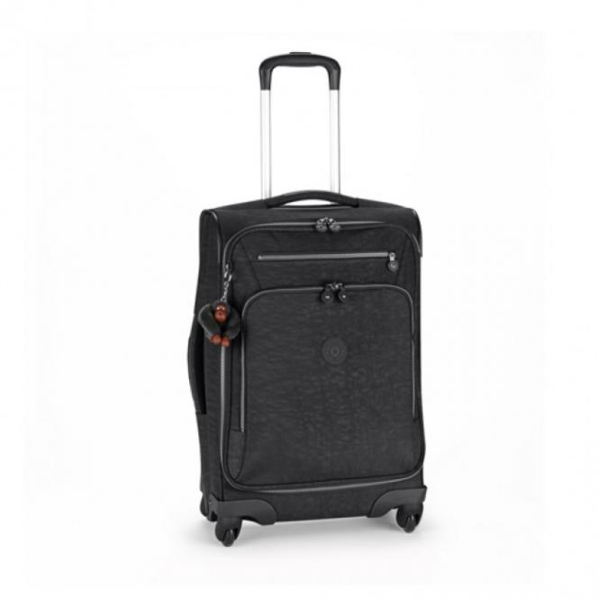 Basic Spin 55 4-Rollkoffer Black