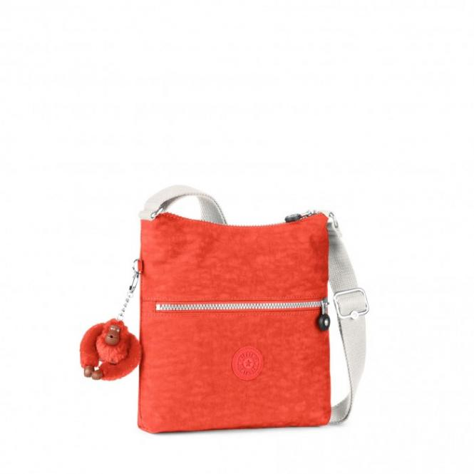Basic Schultertasche Coral Rose C