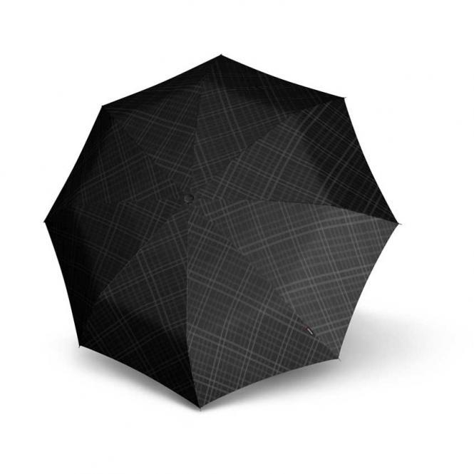 Check Modern Taschenschirm Black