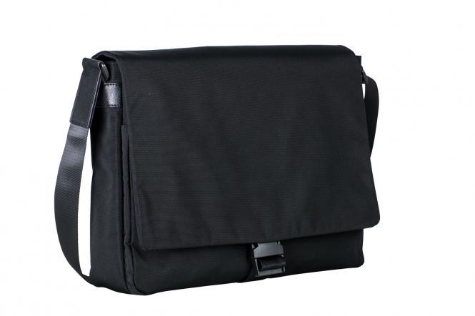 """Umhängetasche L 7716 mit Laptopfach 13.3"""" schwarz"""