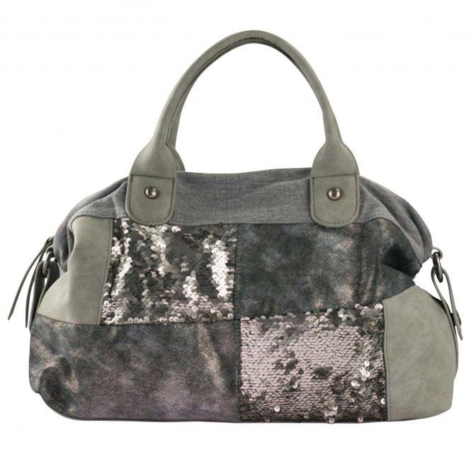 Handtasche Silver
