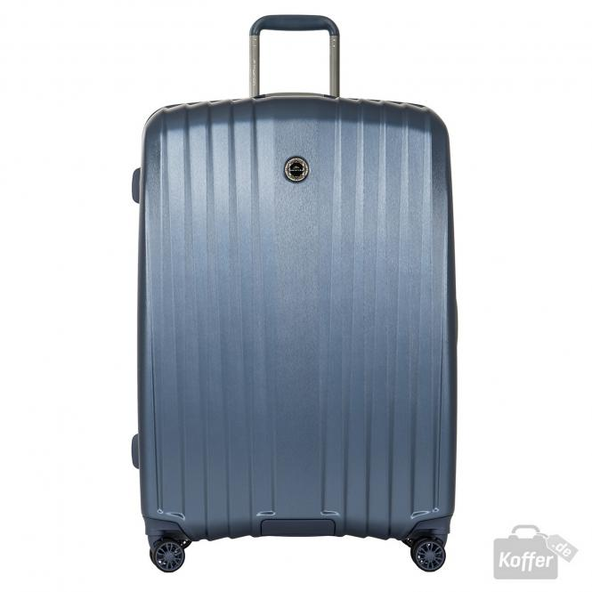 Trolley L 4w Mid Blue (Brushed)