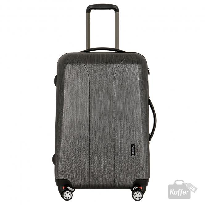 Trolley M 4W black brushed