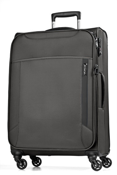 Trolley M 4W Expandable black