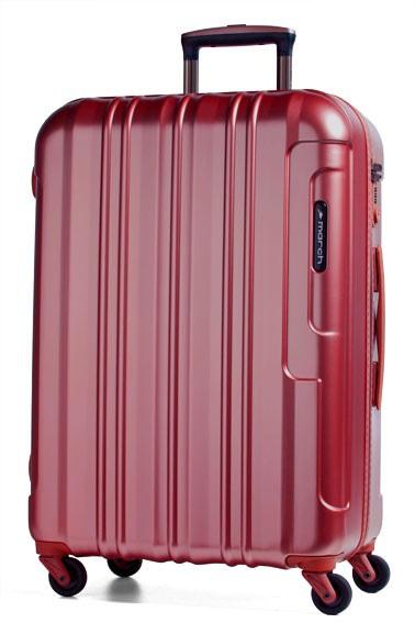 Trolley M 64cm 4W metal red