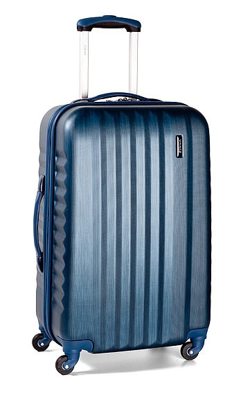 Trolley M 4W navy brushed