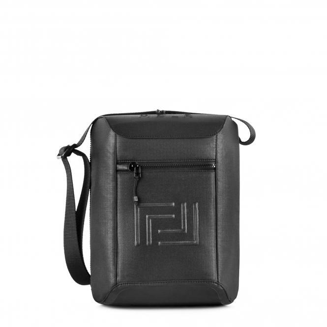 """Messenger Bag M 12"""" Black"""