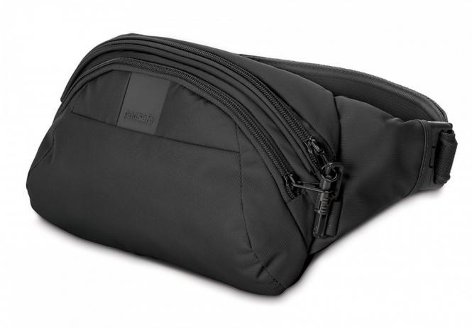 LS120 anti-theft Bauchtasche Black