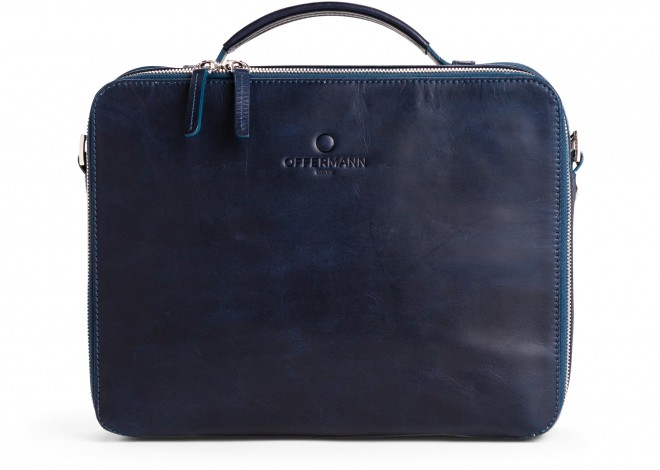 Businesstasche Men - Workbag S Fine Midnight Blue