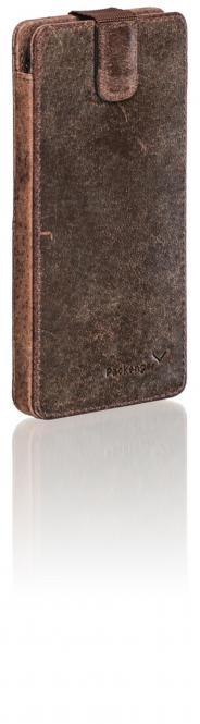 Handytasche für Samsung Galaxy S7 Vintage Braun