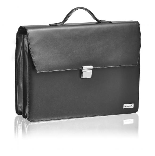 """Aktentasche für Laptop 17"""" Schwarz"""