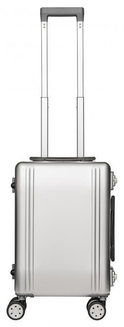 Alu Reisekoffer 33L Silber