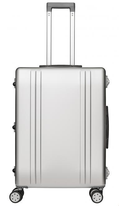 Alu Reisekoffer 68L Silber