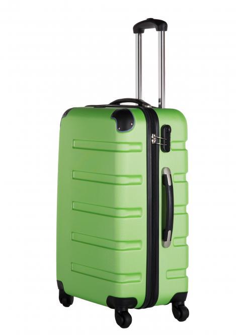 Koffer M Grün