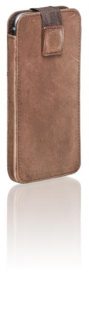 Ledertasche Ari für iPhone 6/6S Braun