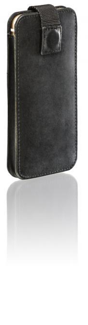 Ledertasche Ari für IPhone 6/6S Schwarz