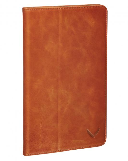 Klapphülle Luxury für iPad Air 2 Cognac
