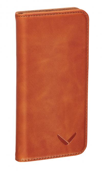 Klapphülle Luxury für iPhone 5/5S/SE Cognac