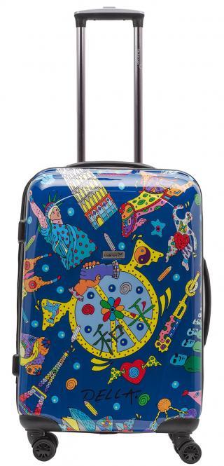 Koffer L Blau