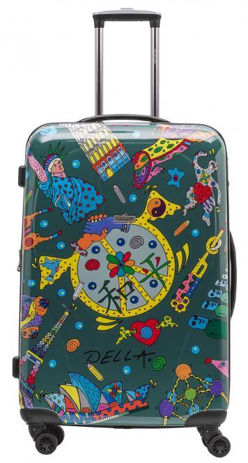 Koffer XL Olivgrün