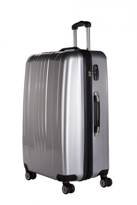 Premium Koffer XL Silber