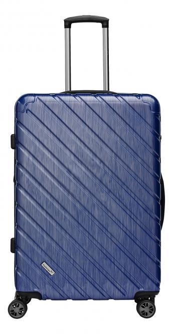 Premium Koffer XL Blau Metallic