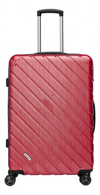 Premium Koffer XL Rot Metallic