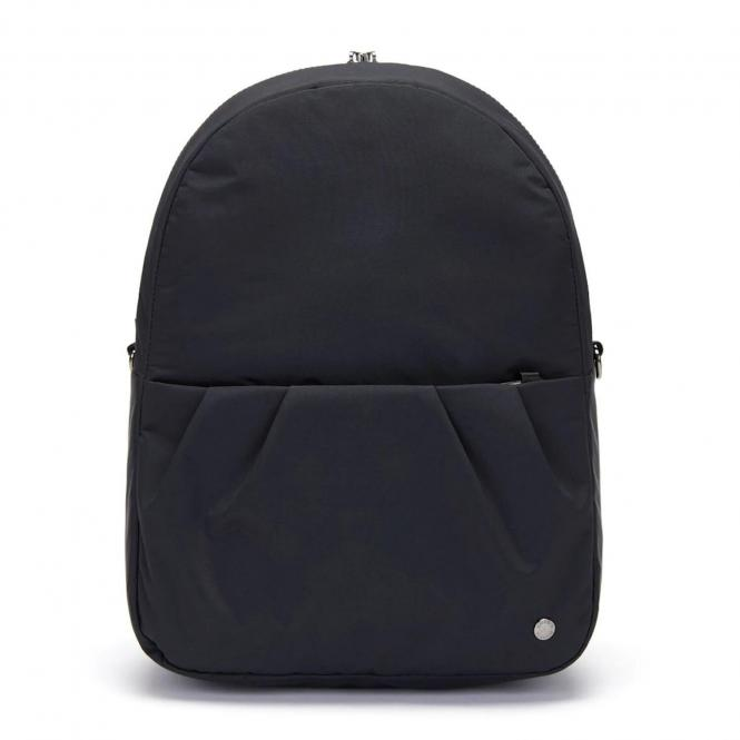 Anti-Theft Convertible Backpack Econyl Black